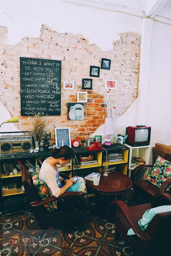 9 quán cafe nền gạch hoa cực nghệ ở Sài Gòn mà bạn nên ghé qua... chụp hình - Ảnh 38.