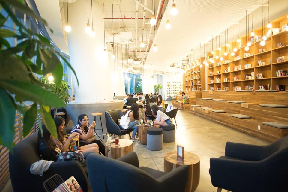 Work Cafe Saigon thích hợp để làm việc
